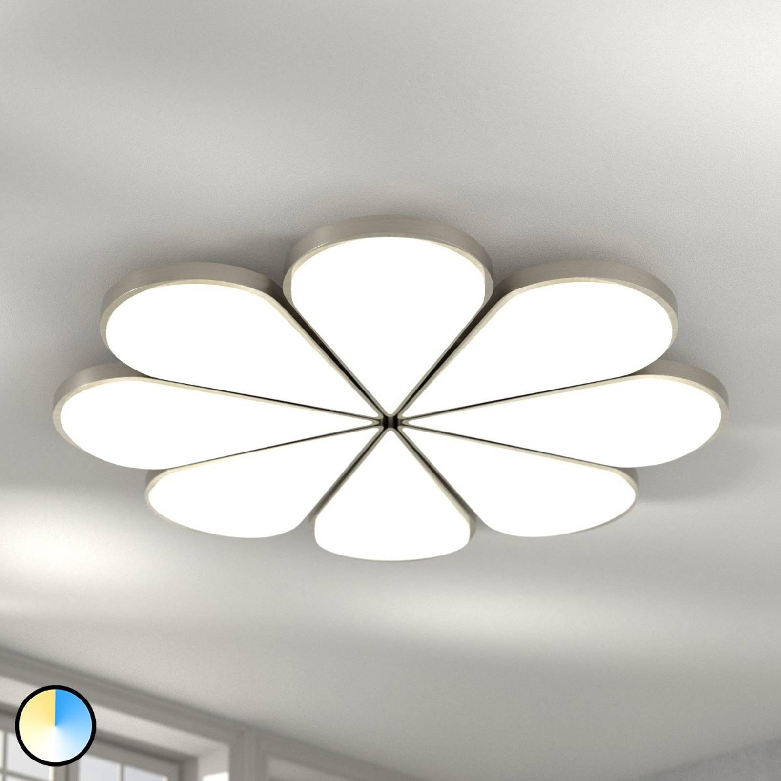 B-Leuchten Flower LED plafondlamp CCT Ø 81 cm