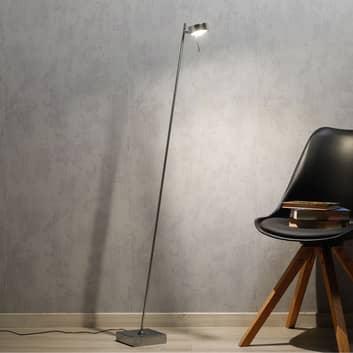 LED-golvlampa Bling med dimmer 1-lampa krom