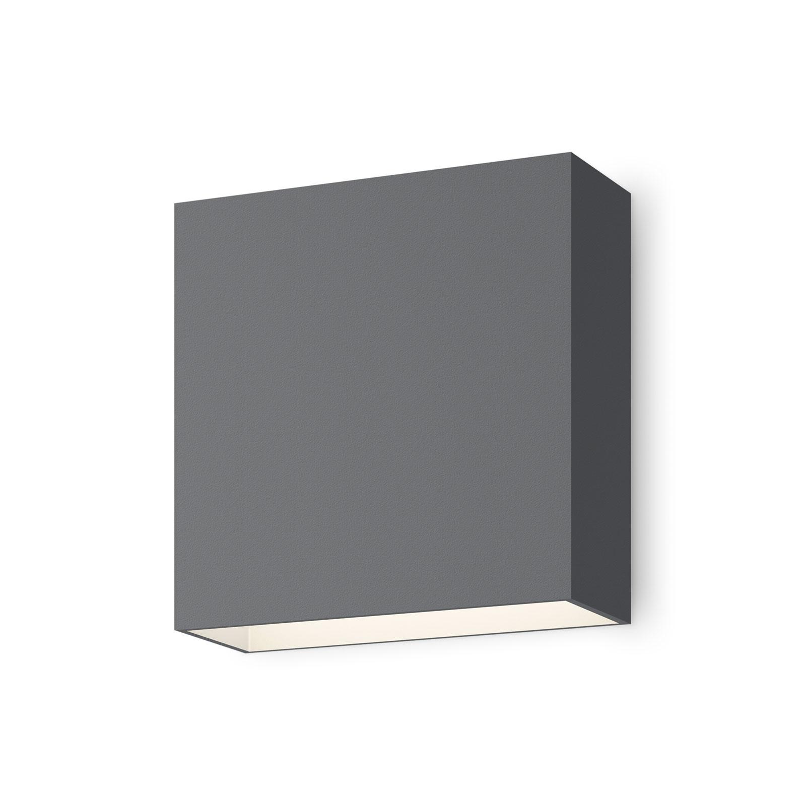 Vibia Structural 2600 LED-vegglampe, mørkegrå