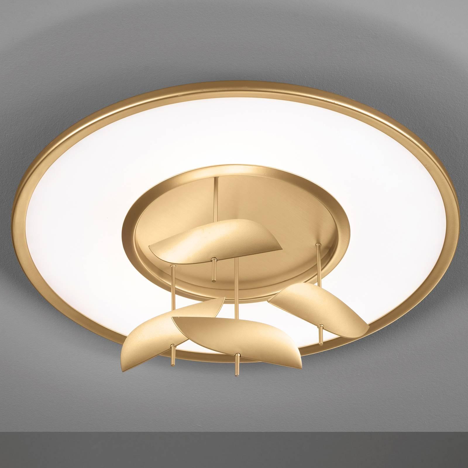 LED plafondlamp Dane, CCT, met afstandsbediening