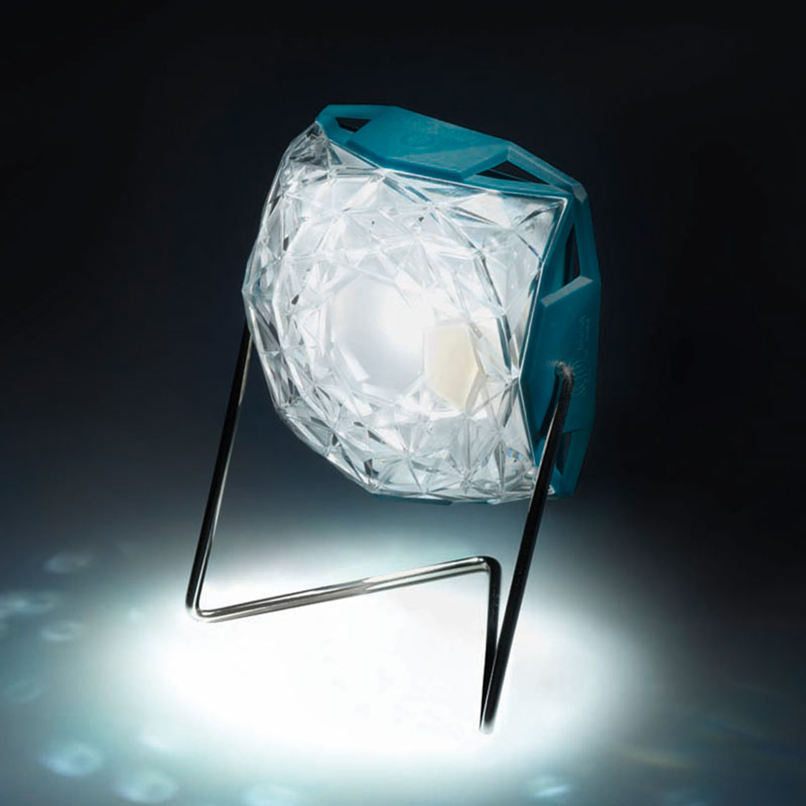 Little Sun Diamond lampa solarna LED ze stojakiem