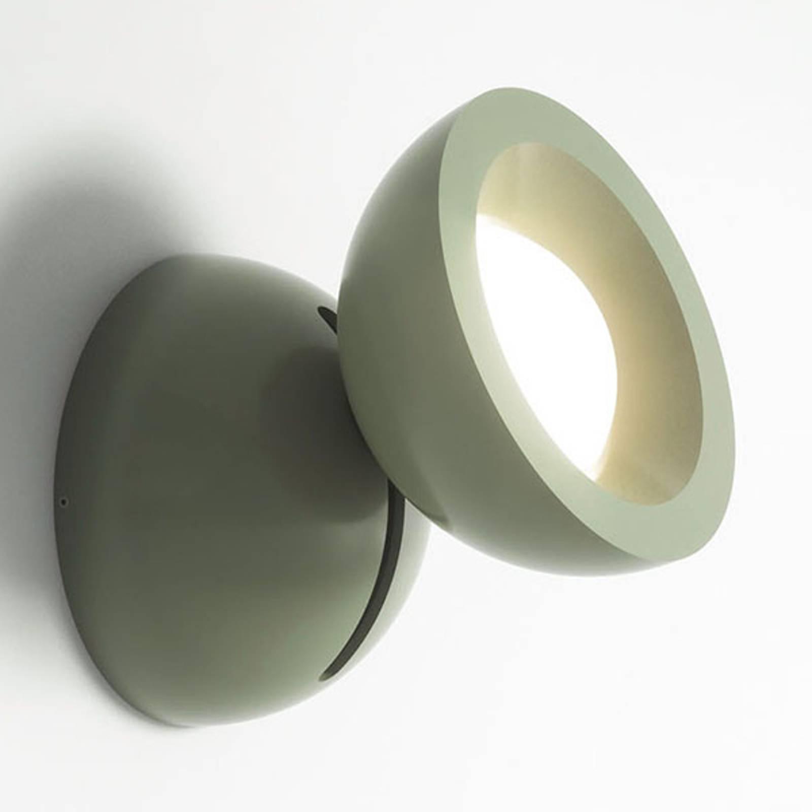 Axolight DoDot applique LED, verte 35°