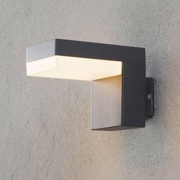 Aplique LED para exterior Dionys en gris oscuro