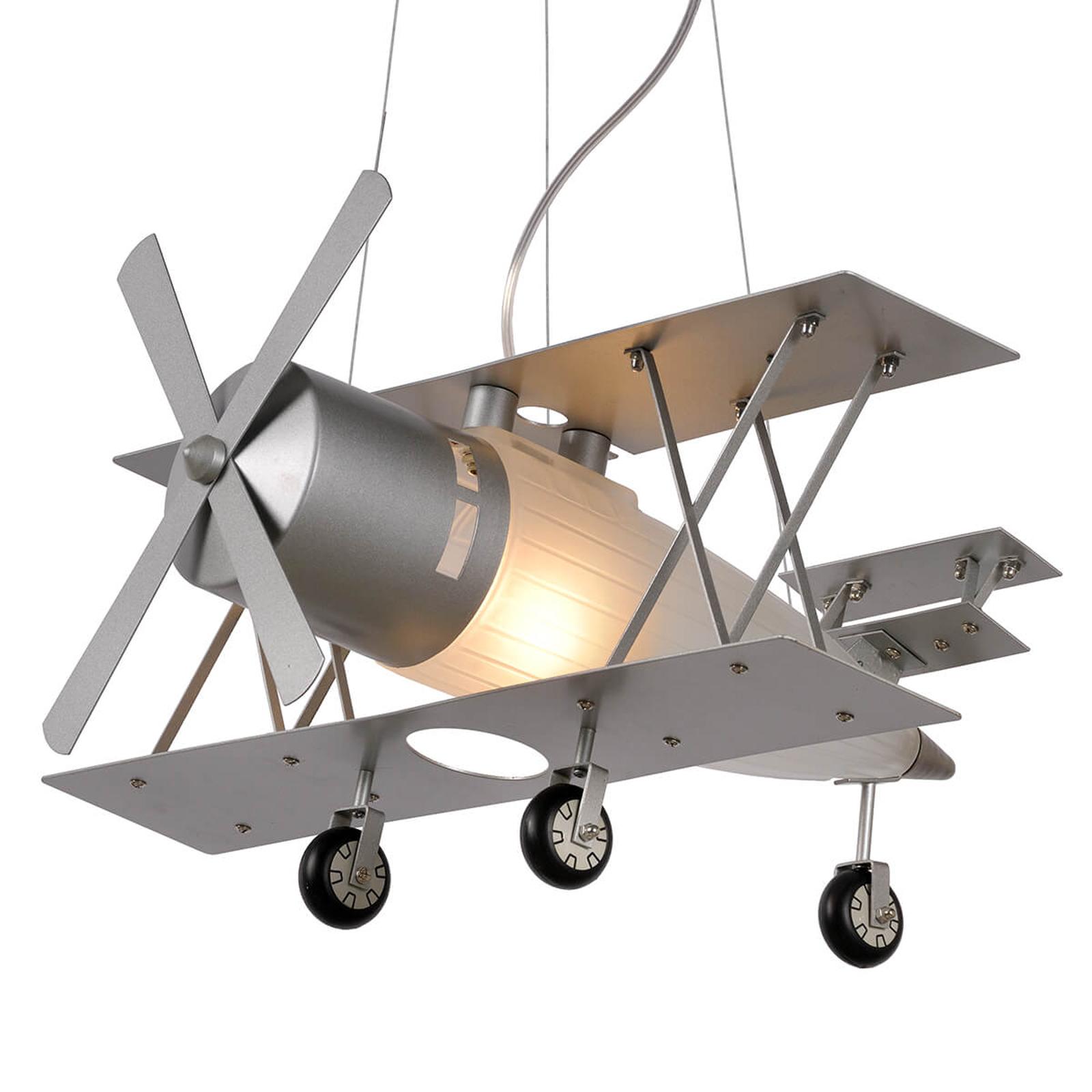 Lampada a sospensione a forma di aereo Focker