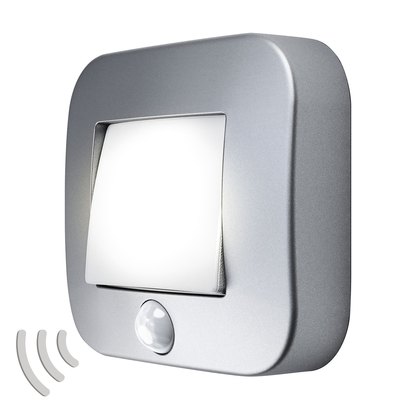 LEDVANCE Nightlux Hall luce notturna argento