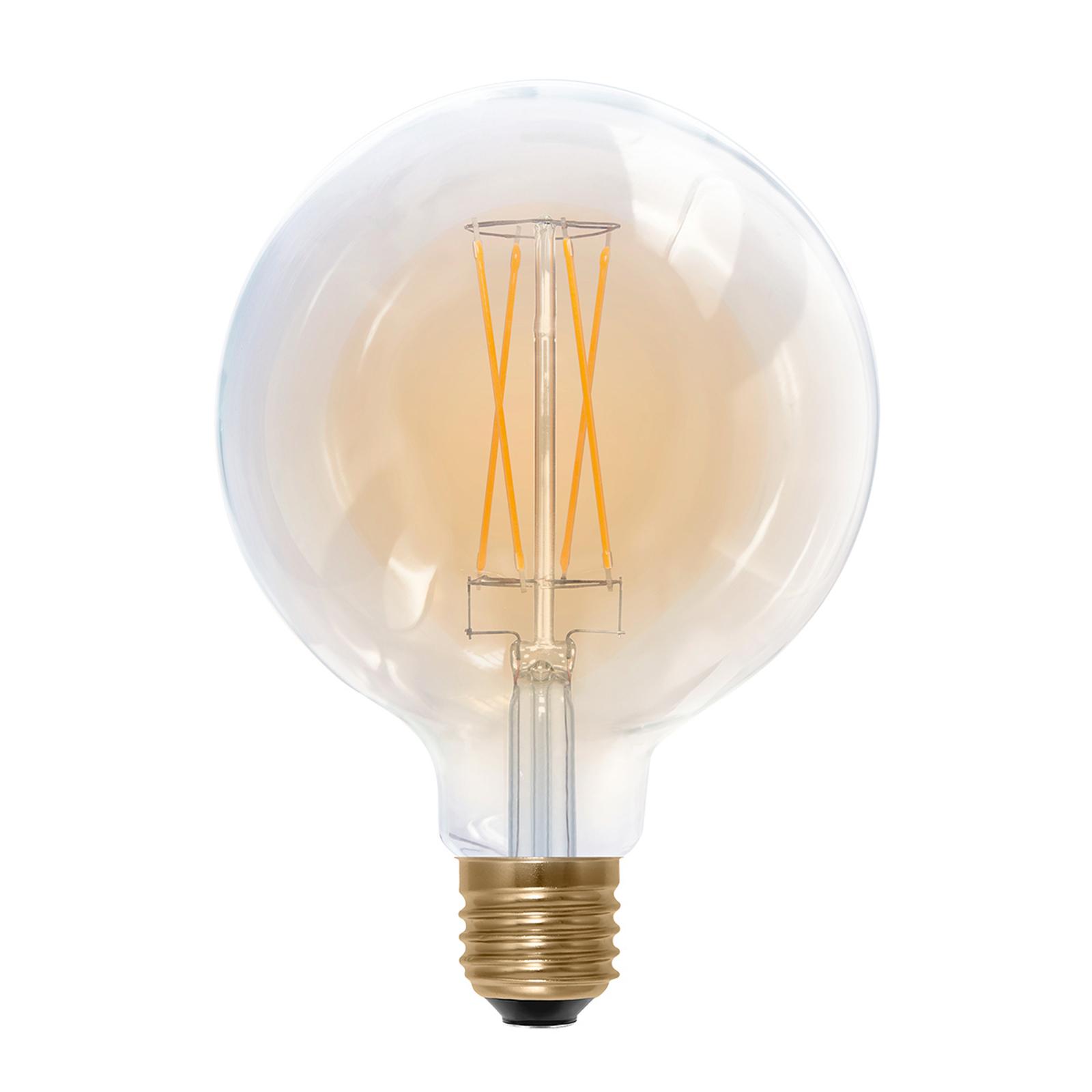 LED-Globelampe E27 G125 6W 2.000K 325 lm gold