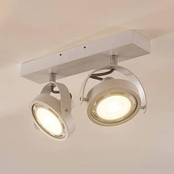 Munin LED-spot, dimbar, hvit, 2-lyskilder