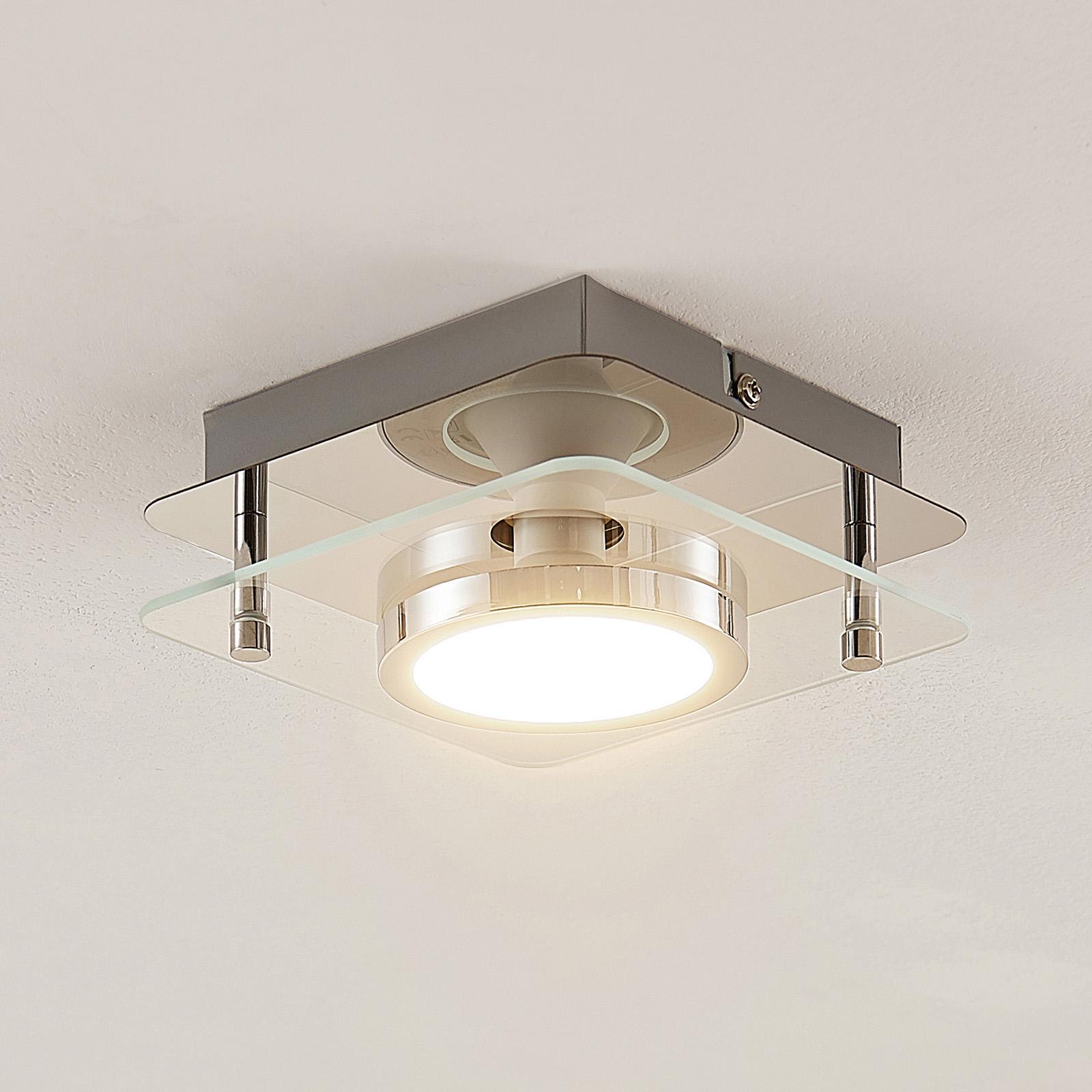 Lindby Gabryl lampa sufitowa LED, 1-punktowa
