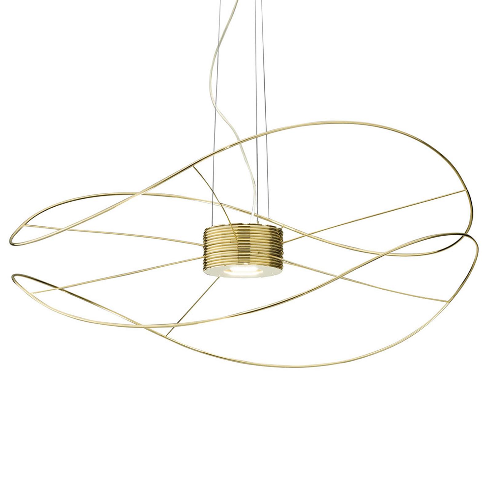 Axolight Hoops 2 LED-hengelampe, gull
