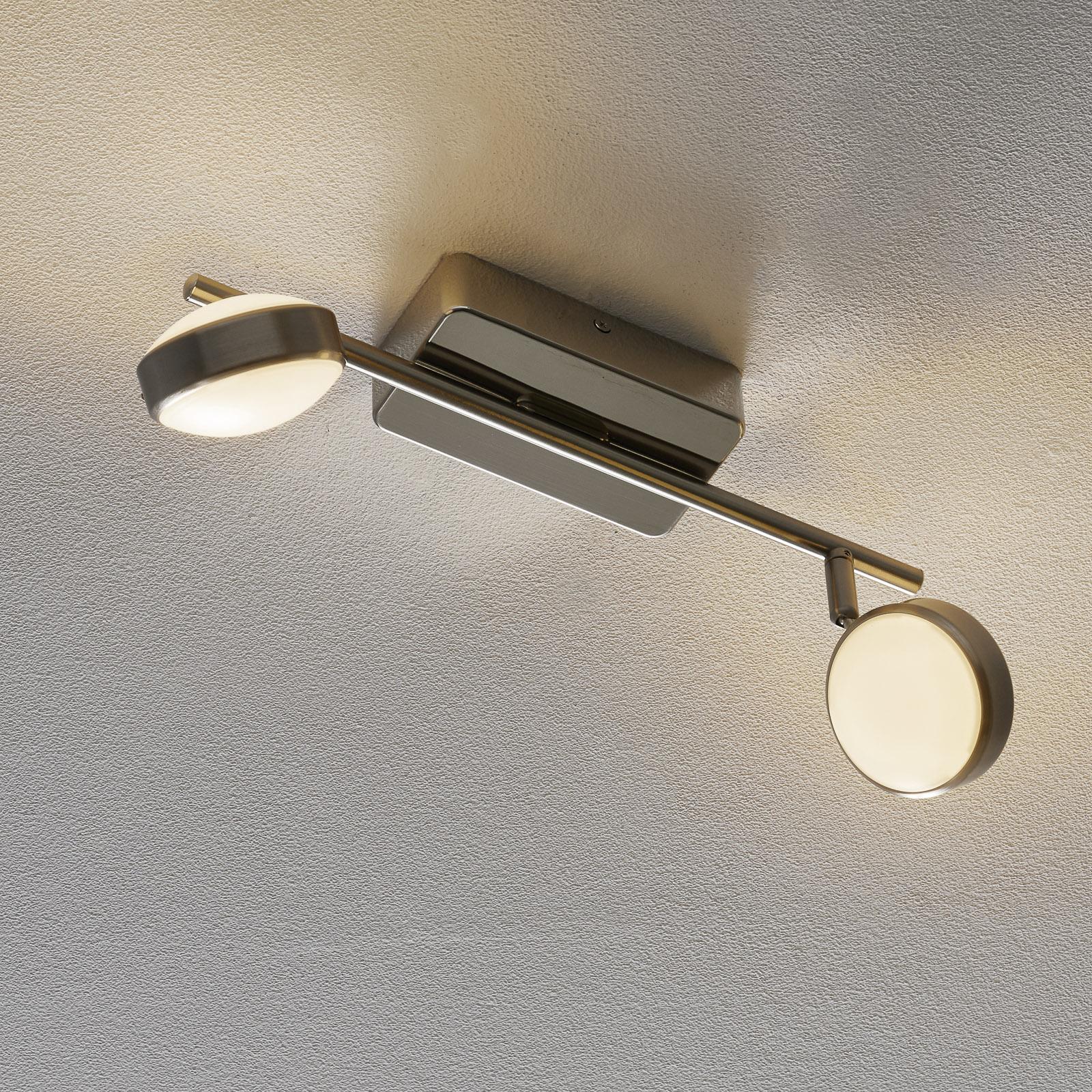 EGLO connect Corropoli-C LED-loftspot, 2 lyskilder