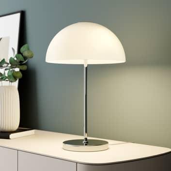 Lucande Lourenco stolní lampa opálově bílá