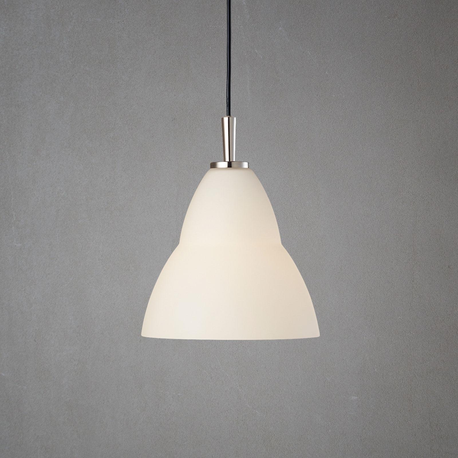 Szklana lampa wisząca Fico S, Ø 18 cm