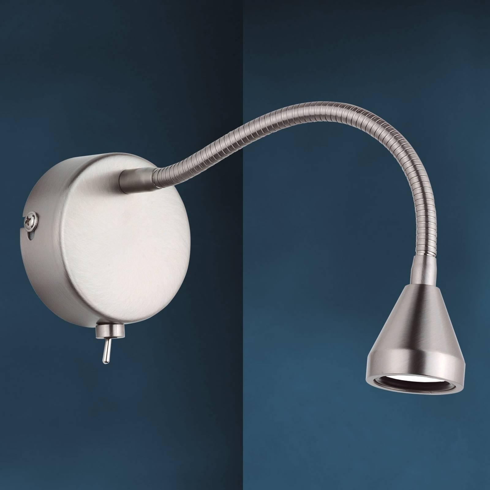 LED-wandlamp MINI flexibel universeelwitte arm
