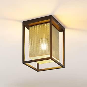 Lindby Daiana loftlampe med bikubemønster