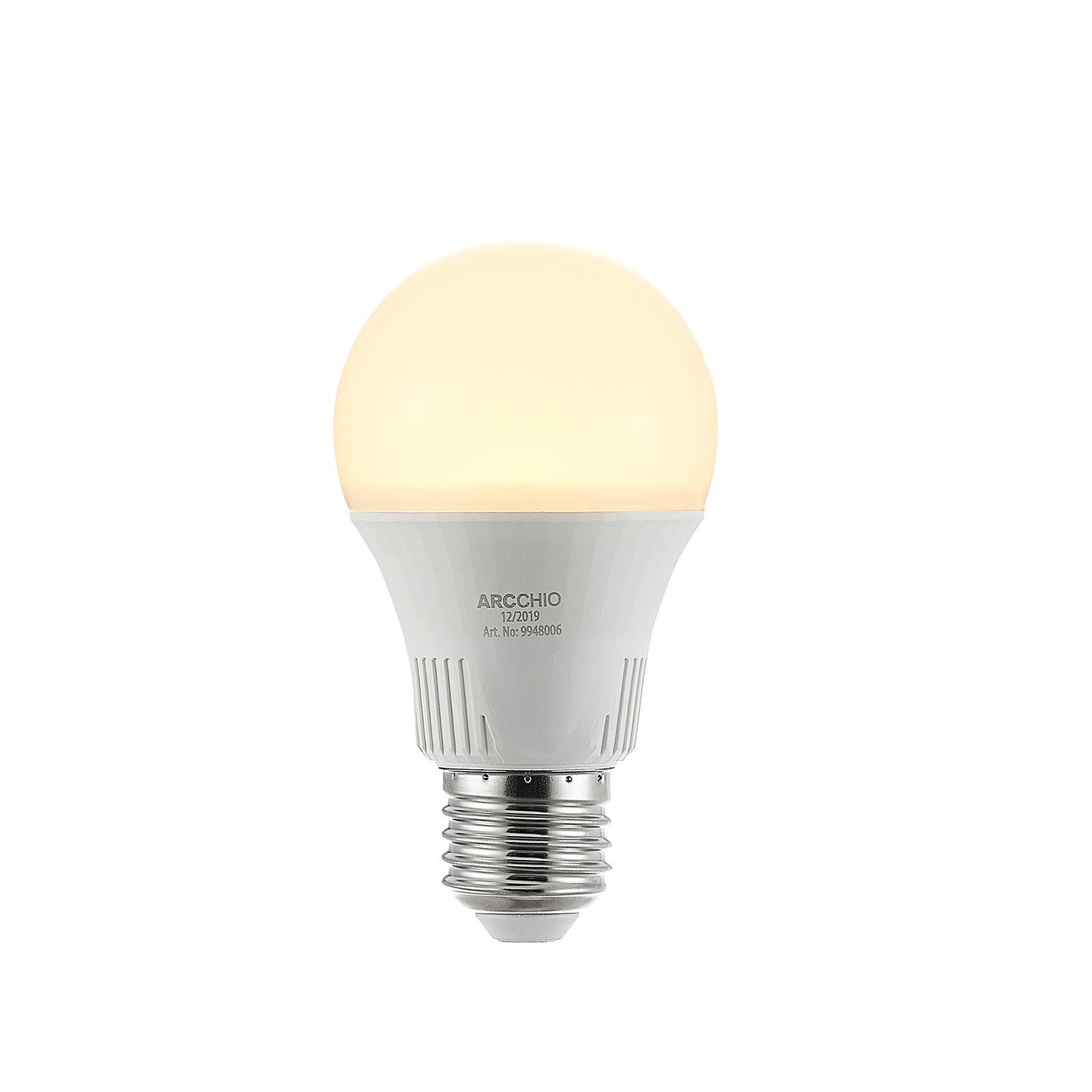 LED lamp E27 A60 9W 2.700K 3-step-dimbaar