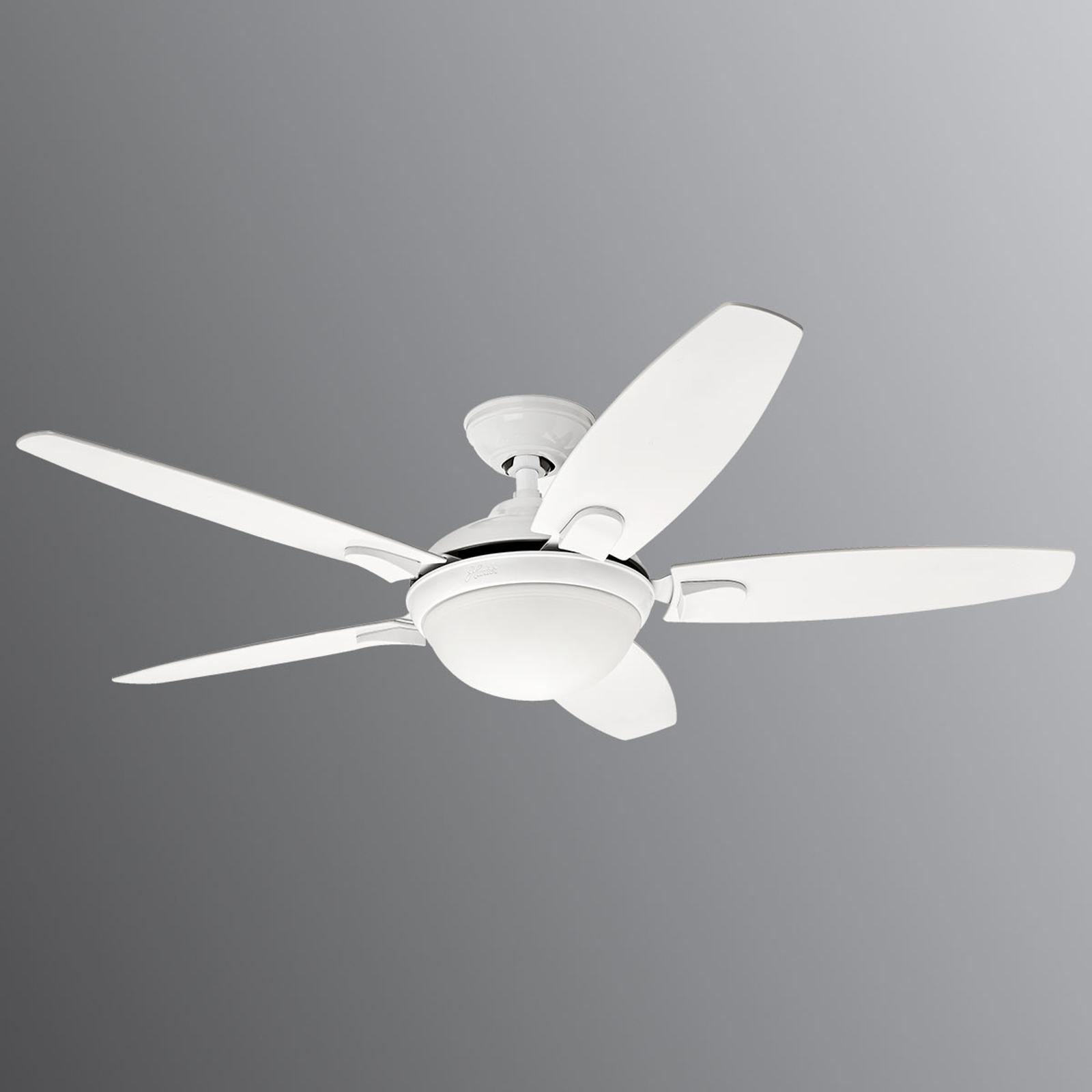 Produktové foto Hunter Hunter Contempo – stropní ventilátor se světlem