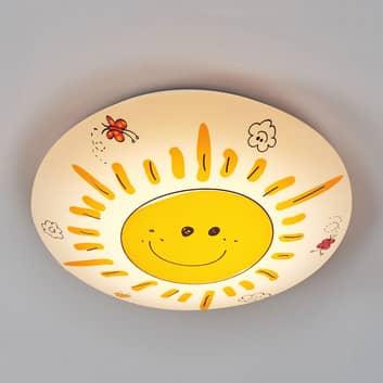 Lśniąca lampa sufitowa Sunny