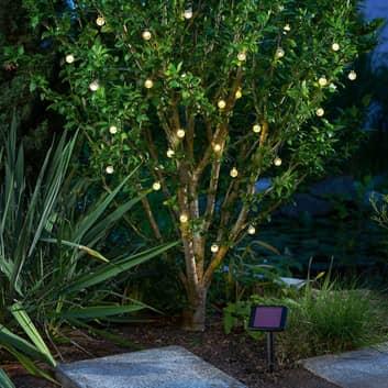 Solar-LED lichtketting Bubble Balls met 30 ballen
