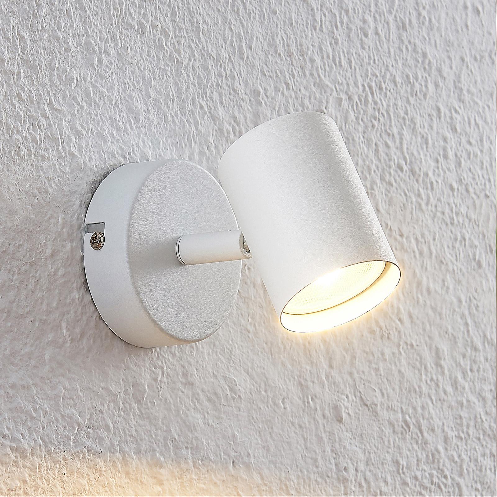 ELC Tomoki LED spotlight, white, 1-bulb_9950860_1