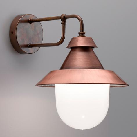 Castello - smuk udendørs væglampe i materialemix