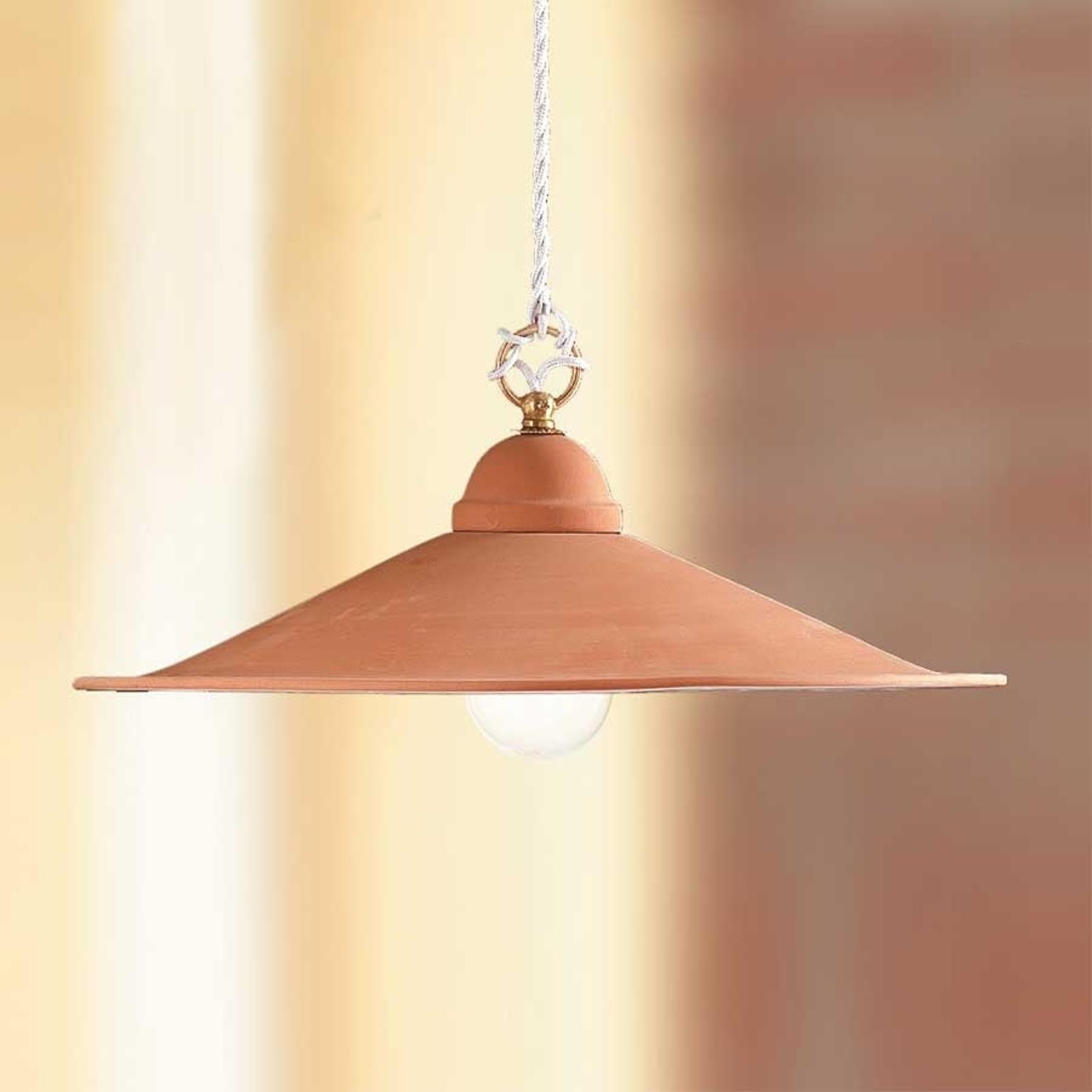 Hængelampe GIULIA med keramikskærm, 28 cm