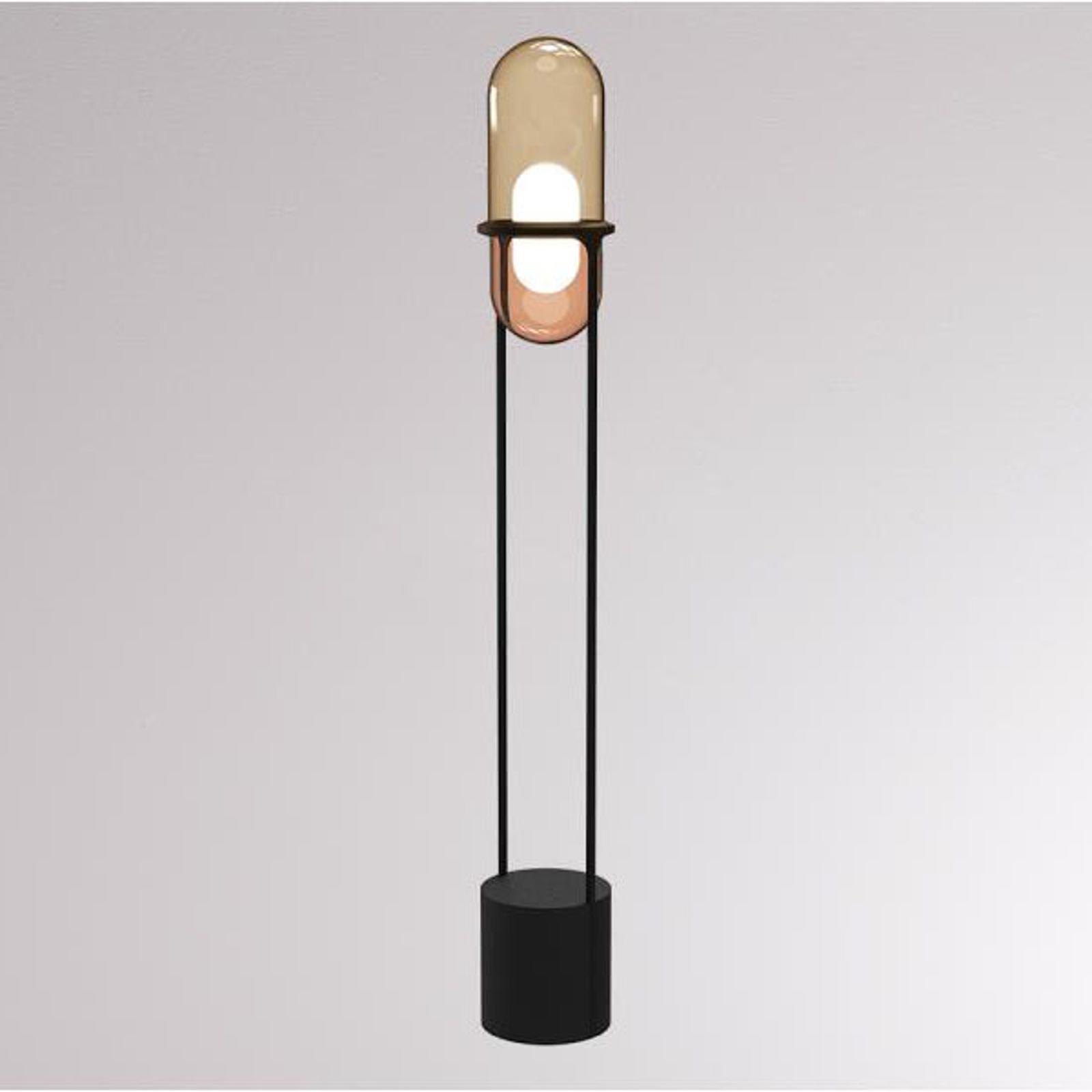 LOUM Pille LED-Stehleuchte champagner/kupfer