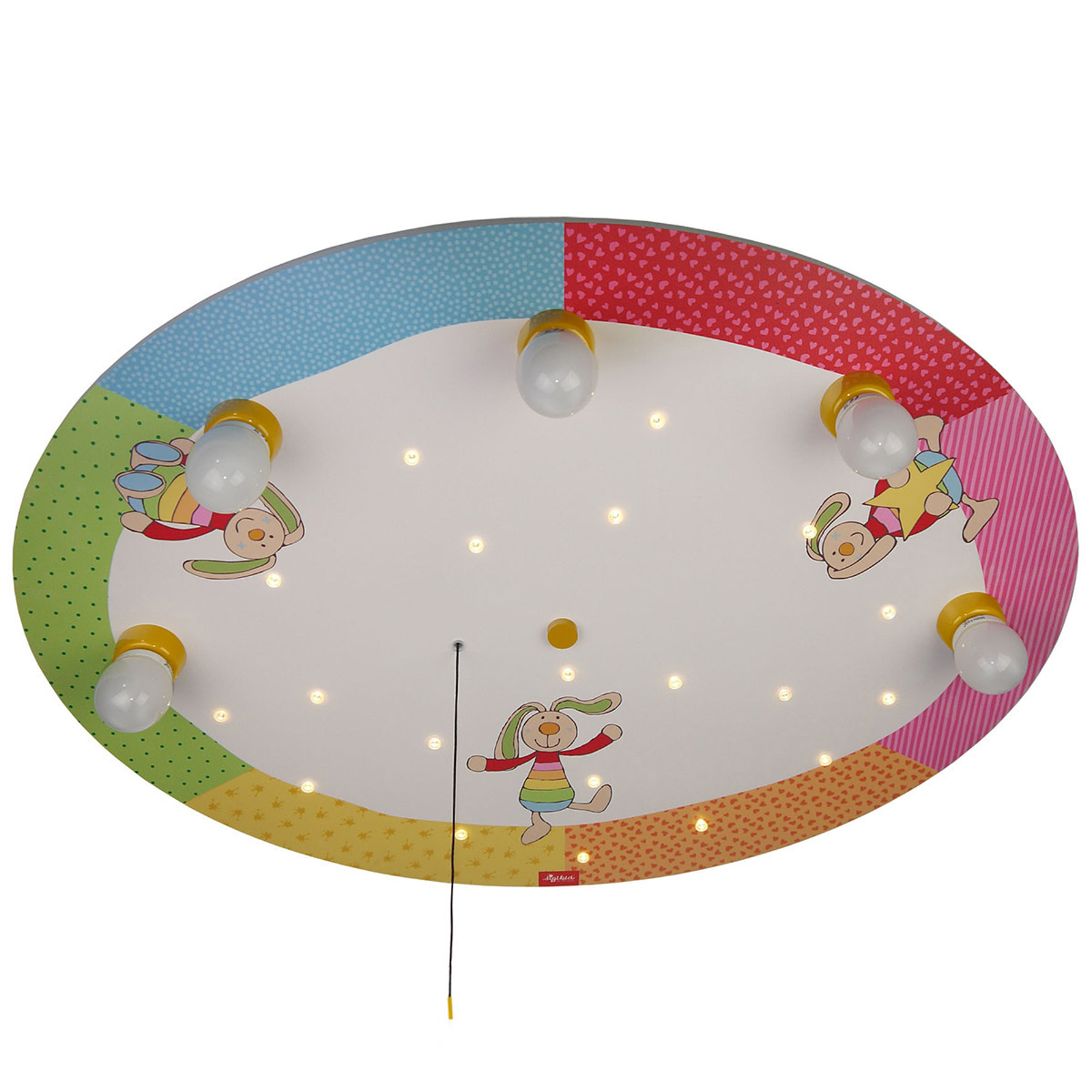 Plafondlamp Rainbow Rabbit+Alexa-Mod