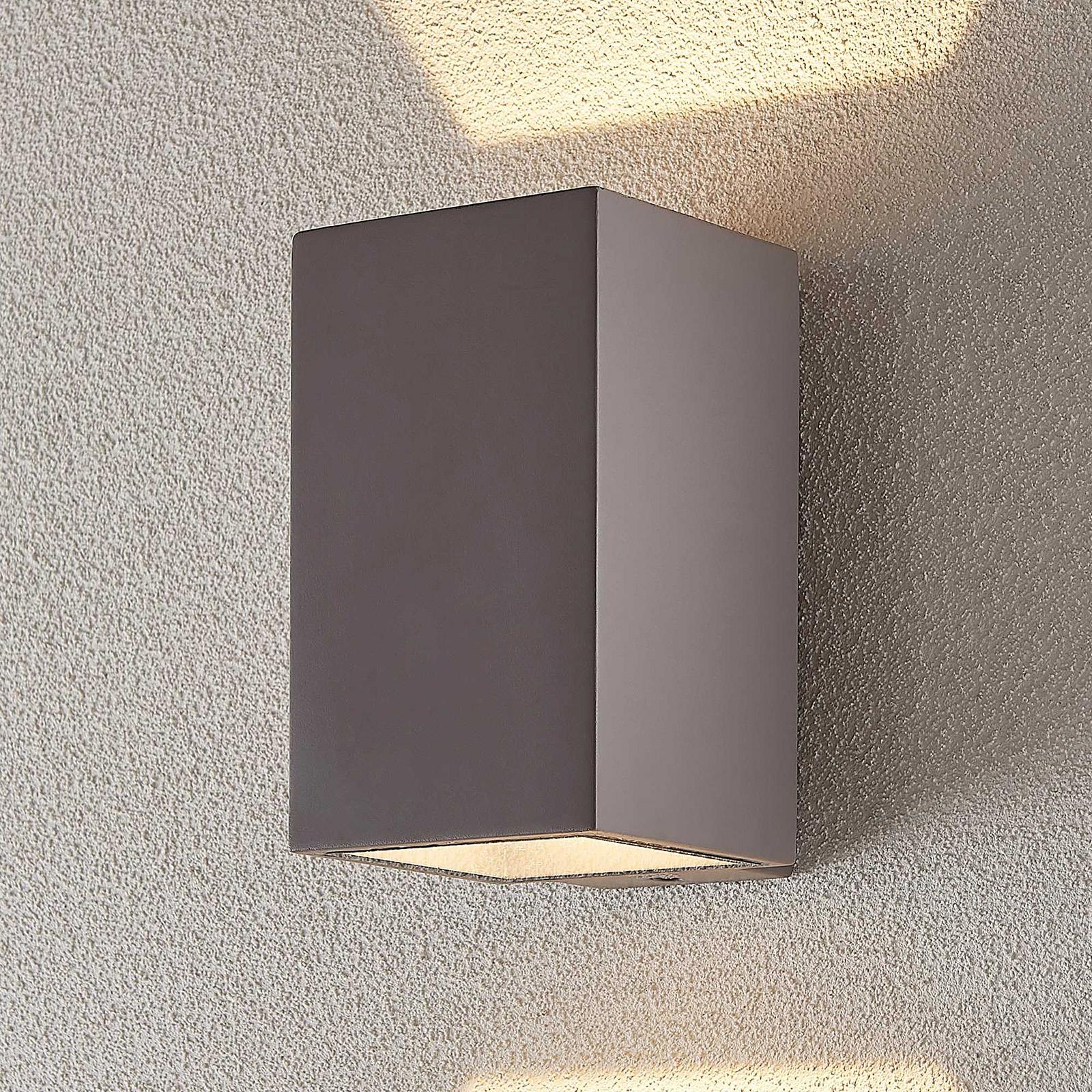 LED-Außenwandleuchte Kaniel aus Beton