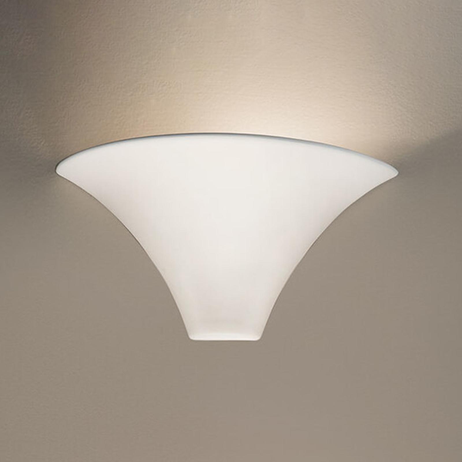 Statig witte wandlamp CARDIN