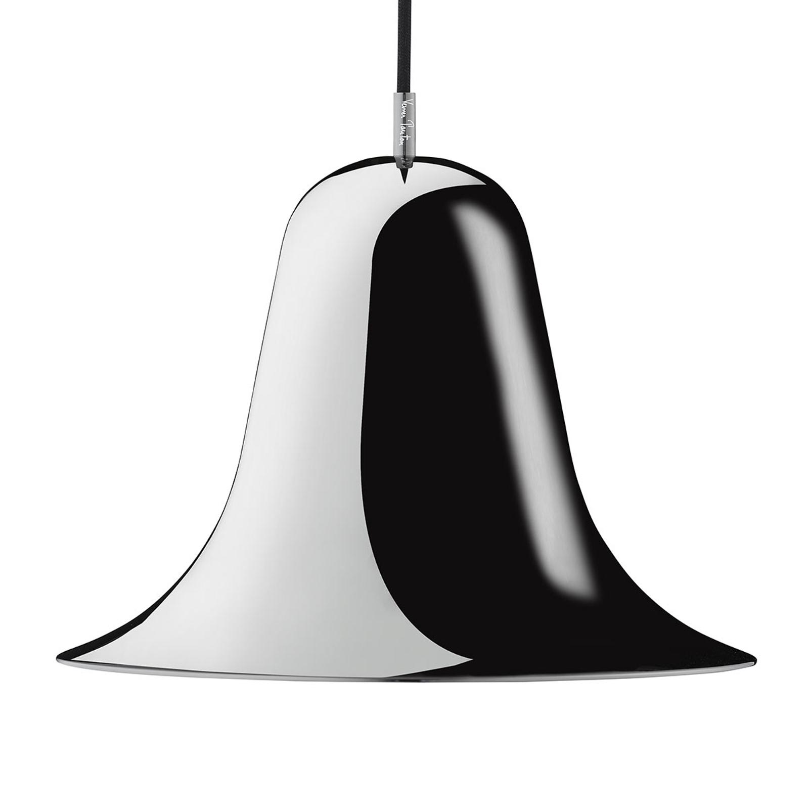VERPAN Pantop sospensione, Ø 30cm, nero lucido