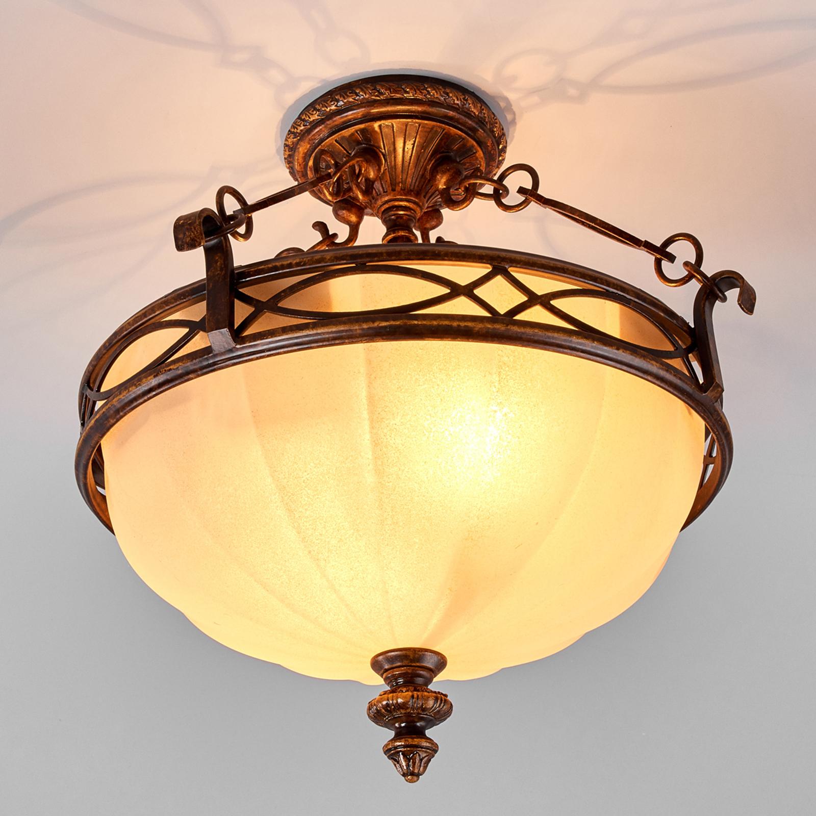 Lámpara de techo clásica Drawing Room