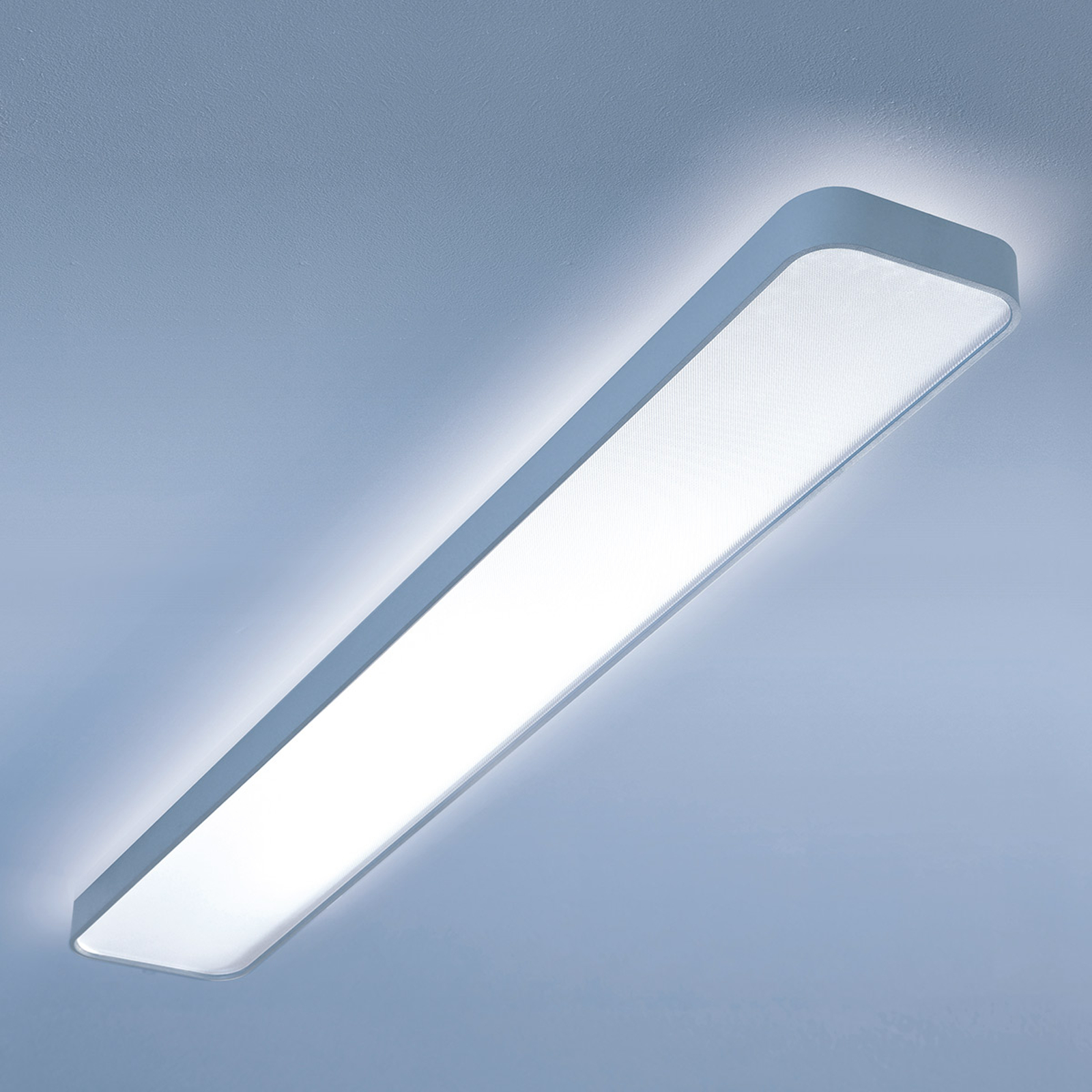 Długa lampa suf. LED Caleo X1, ciepła b., 121,4 cm