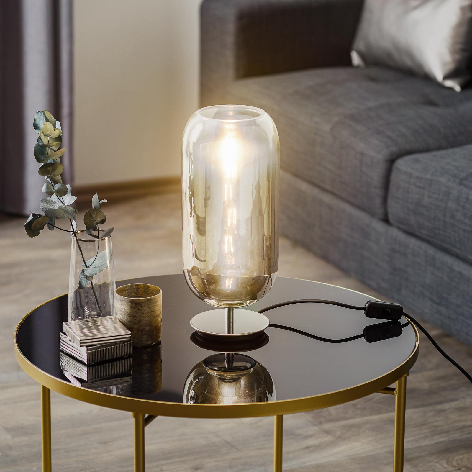 Artemide Gople Mini bordlampe sølv