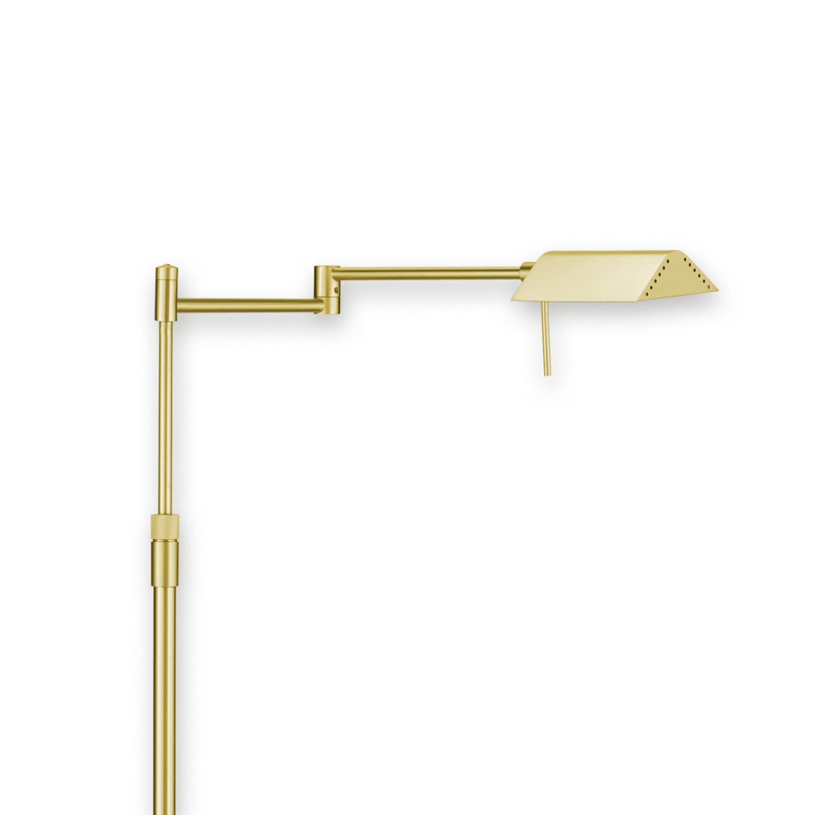 Vybraná stojací lampa LED FINN mosaz matná