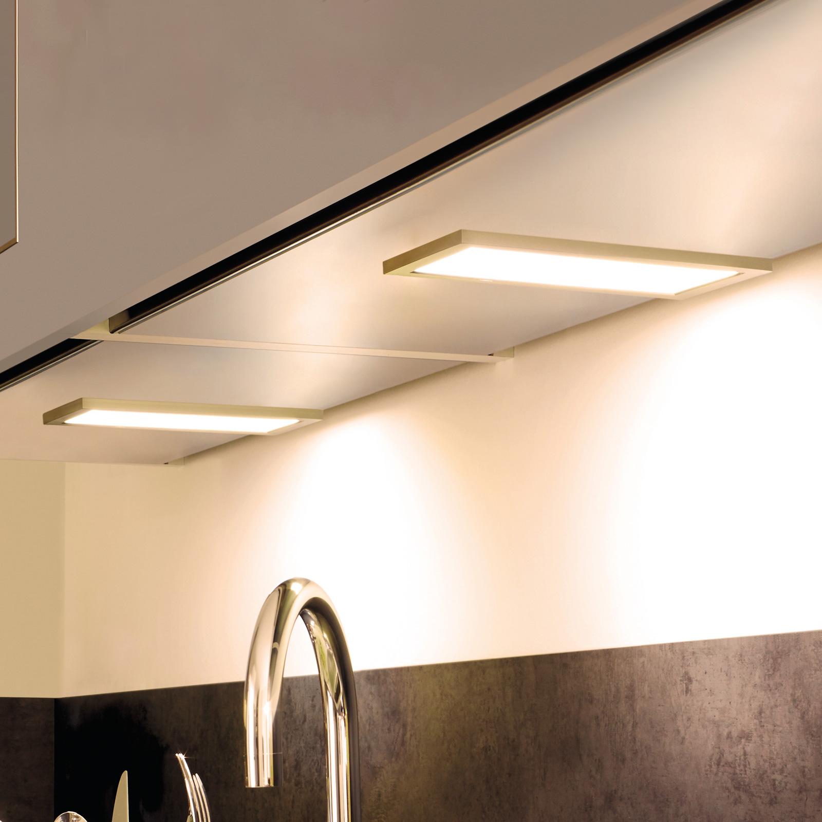 Lampada LED da mobili Sky dimmer 2x 3.000K acciaio