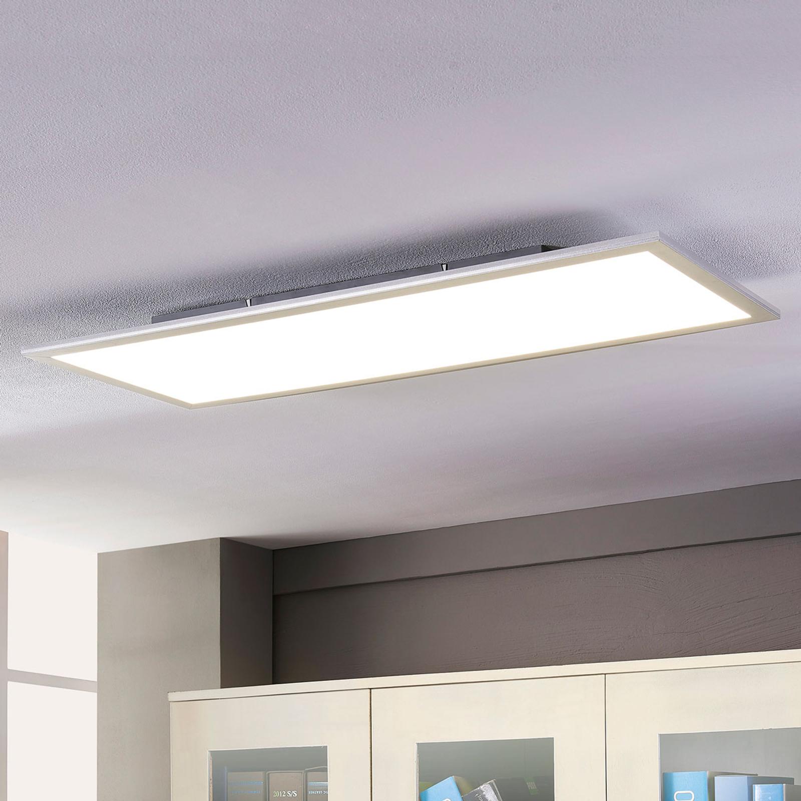 Lindby Livel panel LED 4000K, 120 cm x 30 cm
