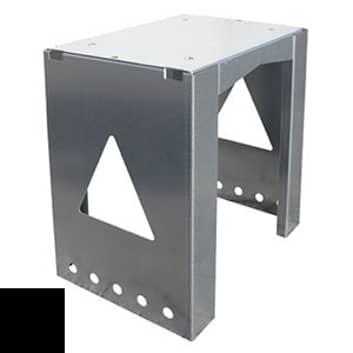 Universelt anvendbar postkassestativ Stand 8002