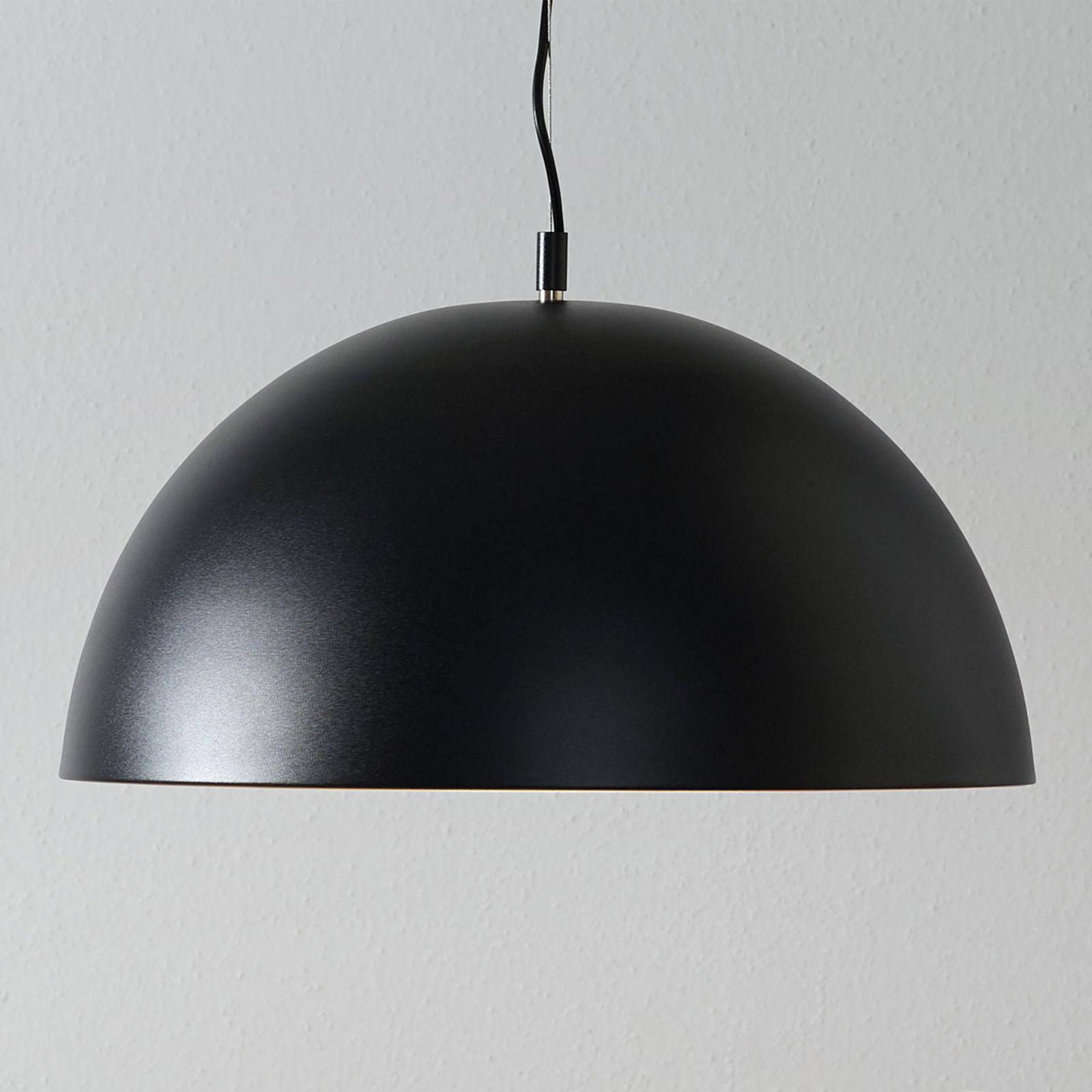 Lucande Phelan suspension 50cm noire-dorée