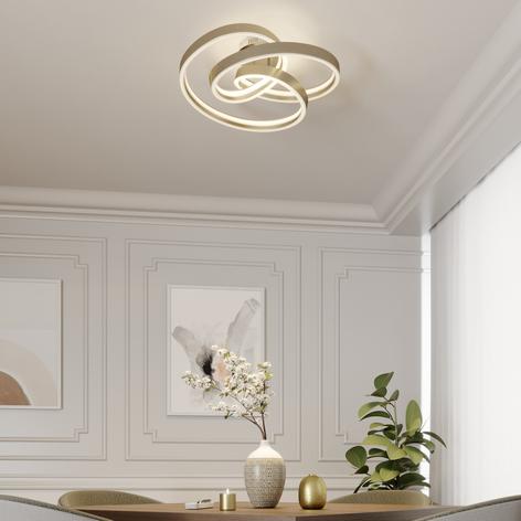 Lucande Gunbritt LED-Deckenleuchte, 60 cm