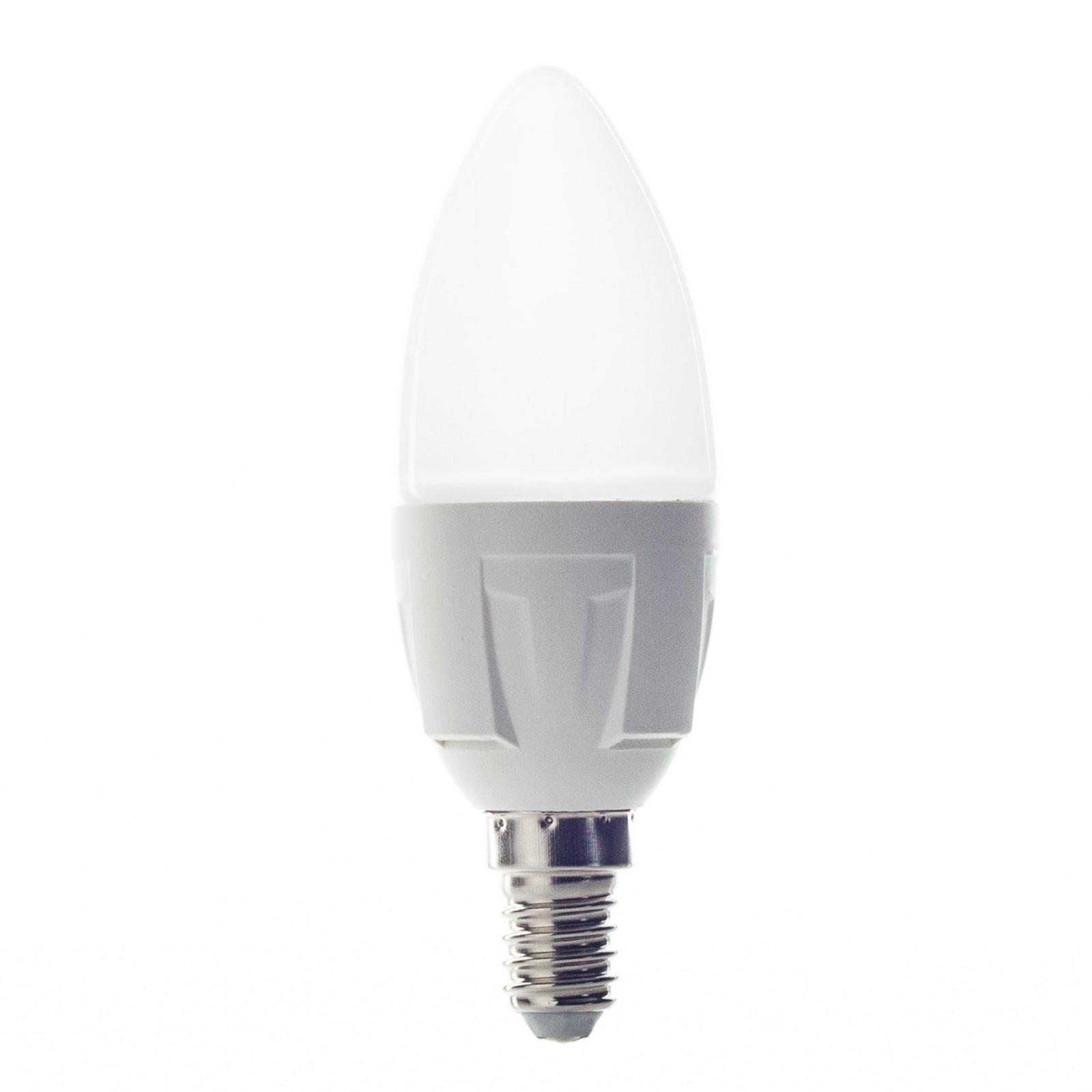 E14 6W 830 LED-Lampe in Kerzenform warmweiß