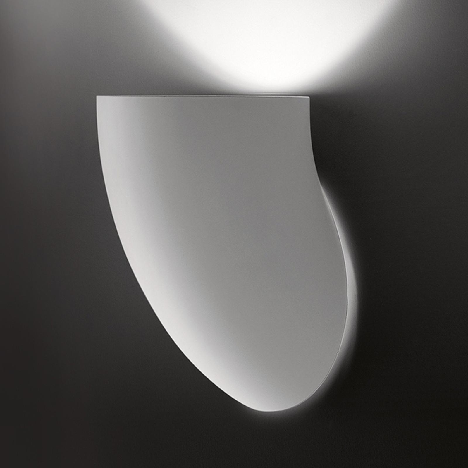 Martinelli Luce Gomito - witte wandlamp