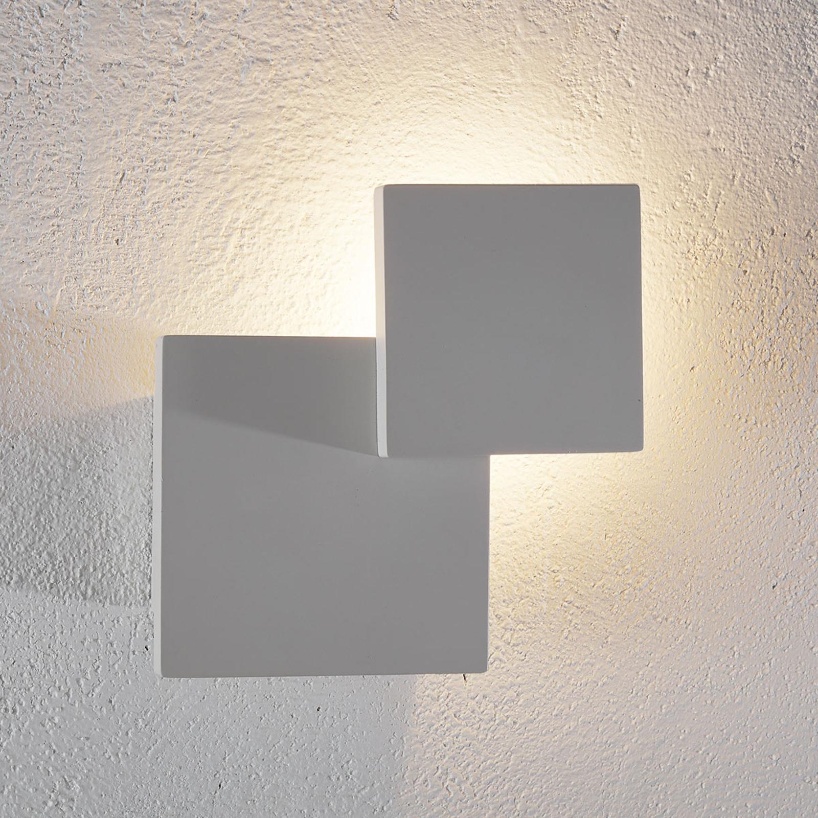 LED wandlamp Tahiti - vierkante vorm