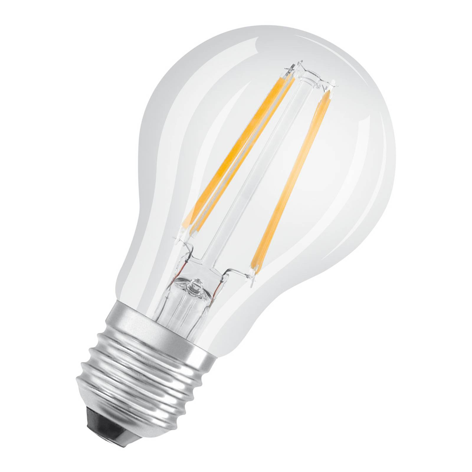 OSRAM LED-Lampe E27 Classic Filam. 827 7W klar 5er