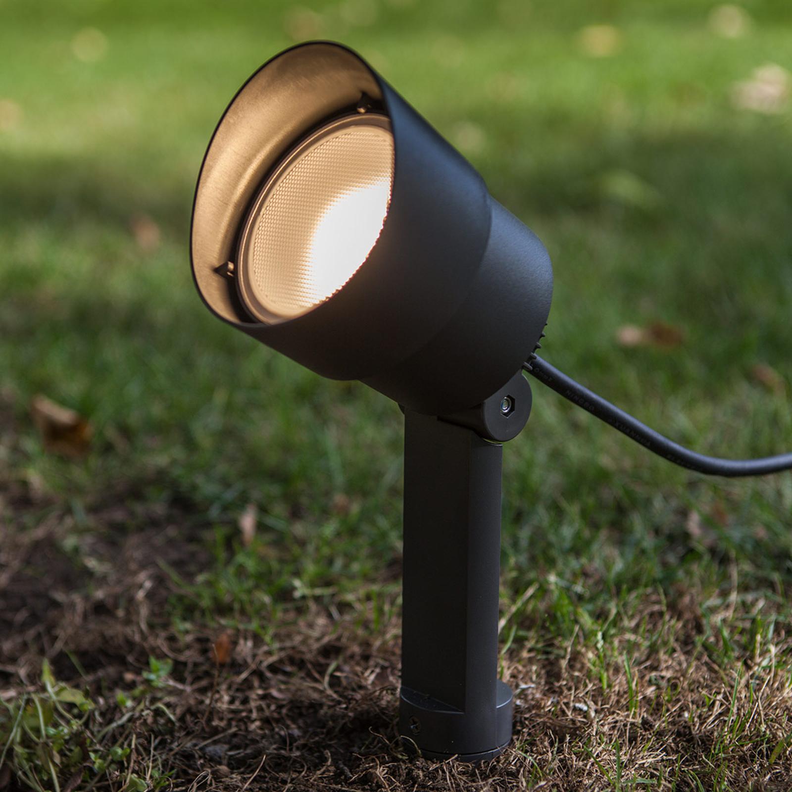 LED-Erdspießleuchte Explorer mit Spotkopf