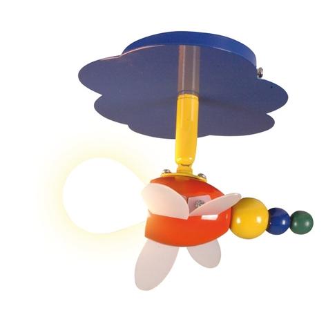 Speelse plafondlamp Fly, 1-lichts