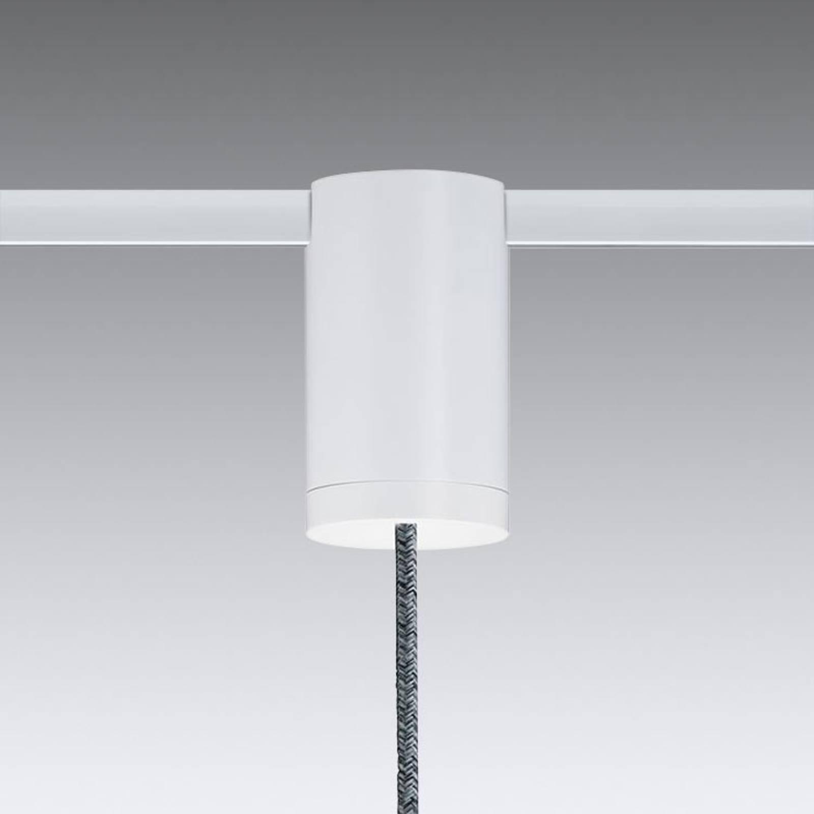 Flex-pendeladapter voor URail railsysteem, wit