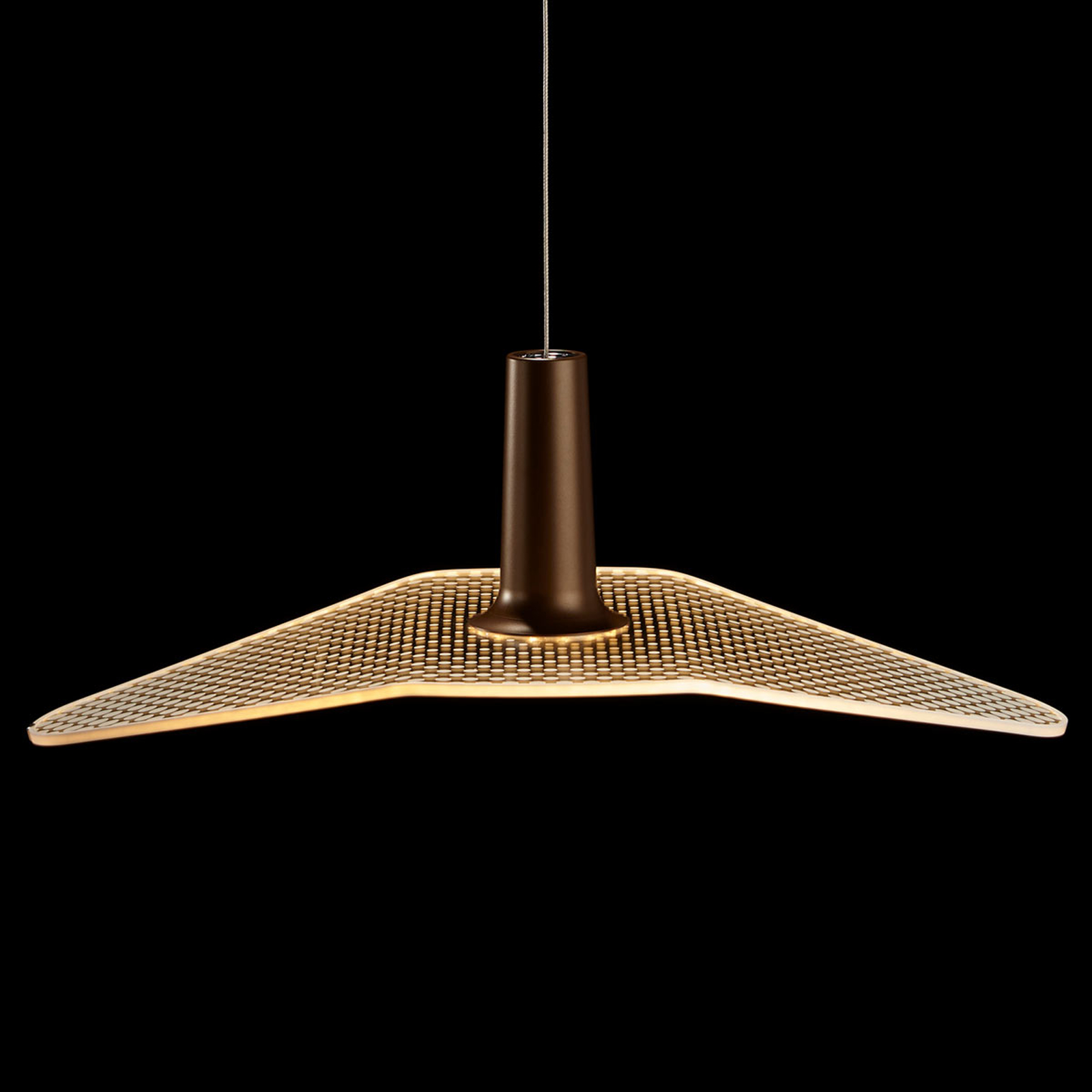 LDM Wyng Dot LED-Hängeleuchte, bronze