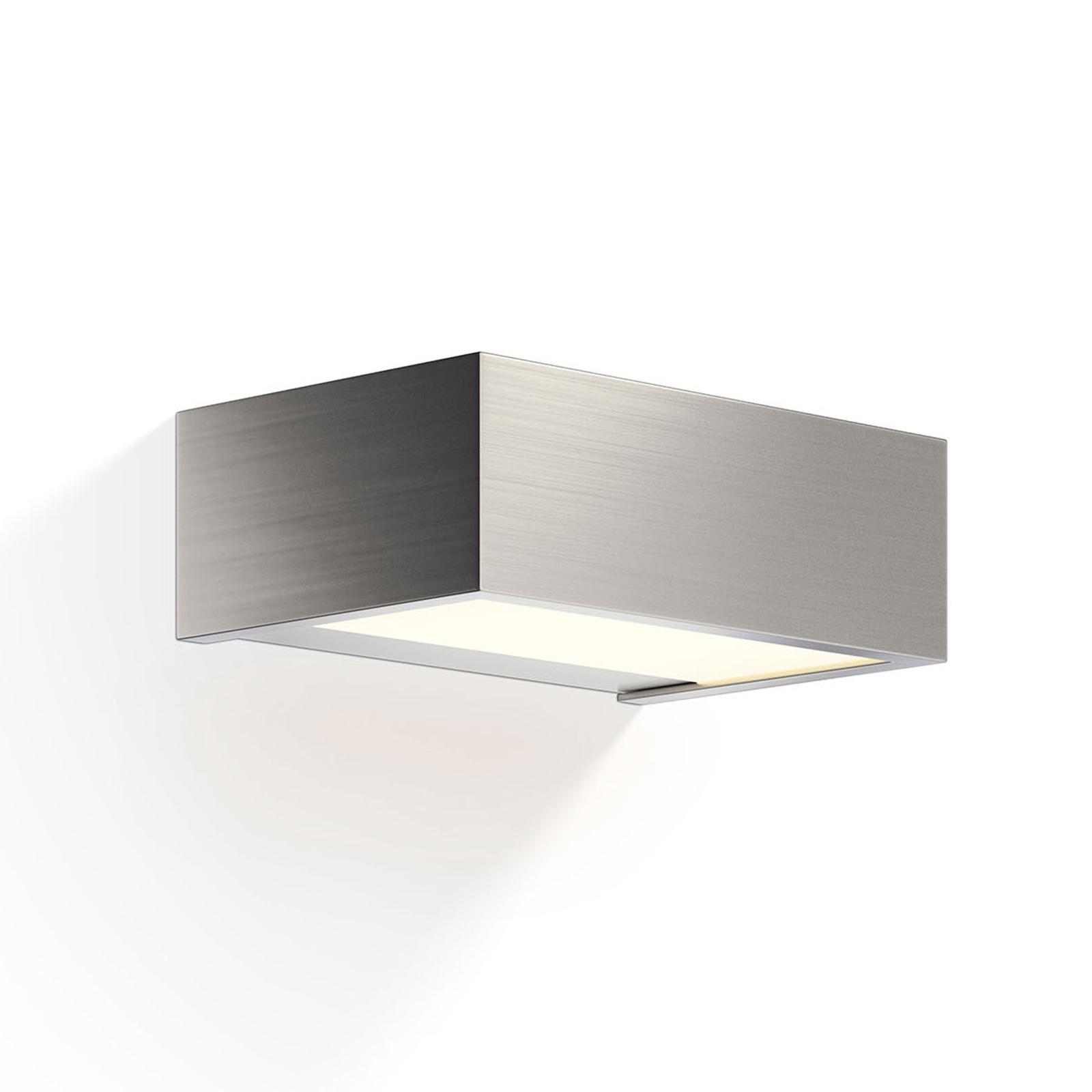 Decor Walther Box LED-vägglampa nickel 15 cm