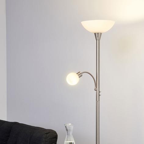 ELAINA - 2-punktowa lampa stojąca LED, nikiel, mat