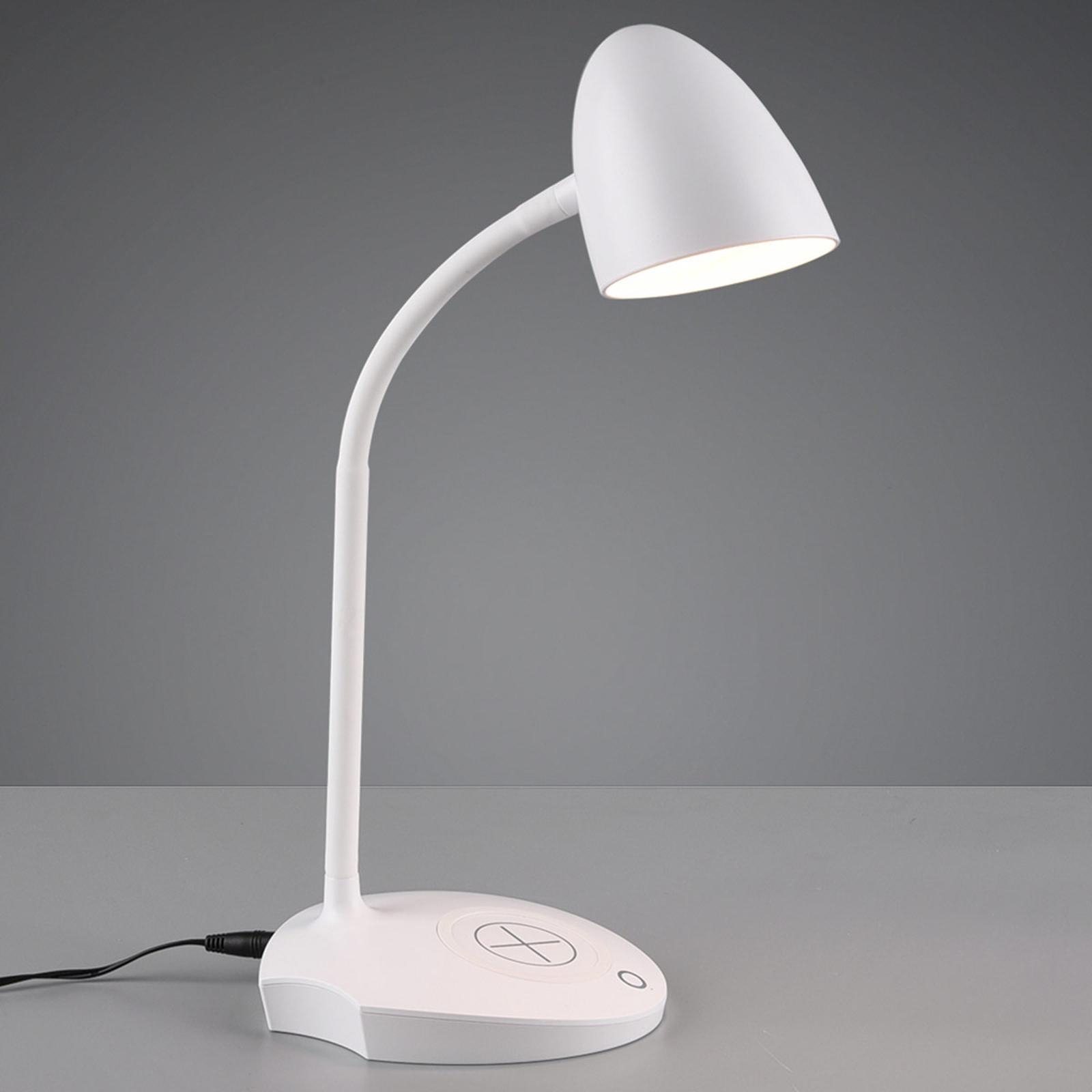 LED-Tischleuchte Load, induktive Ladestation, weiß